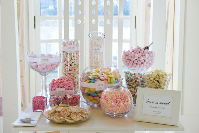 Love is sweet: как организовать десертный бар на свадьбе